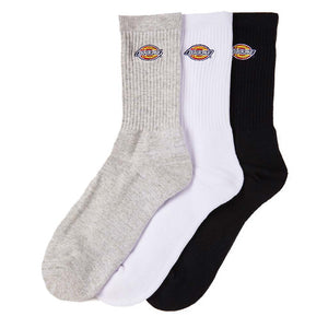 Dickies H.S Rockwood 3 Pack Crew Socks - Assorted | Pavement