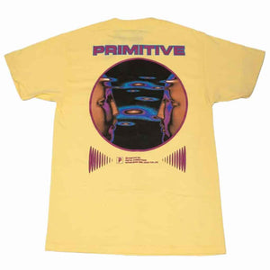 Primitive Systems Tee - Banana | Pavement
