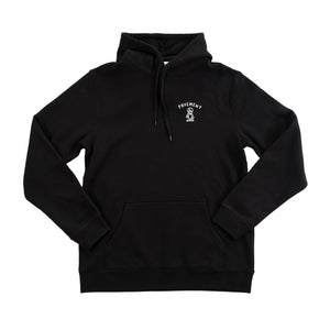 Pavement Sketchy Skateshop Gonz Hoody - Black/Cool Grey | Pavement