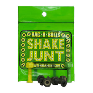 "SHAKE JUNT HARDWARE - BLACK/GREEN/YELLOW 1"" ALLEN"