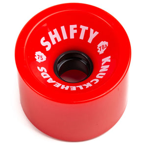 SHIFTY KNUCKLEHEAD 70MM WHEELS - RED