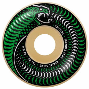 Spitfire Formula Four Venomous Radial Slim 101a 54mm Wheels | Pavement