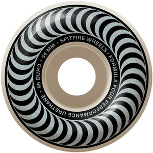 Spitfire Formula Four Classic Silver 101a 54mm Wheels | Pavement