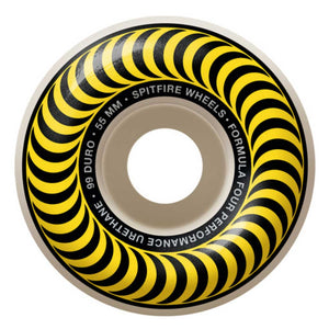 SPITFIRE FORMULA FOUR CLASSIC YELLOW 99A 55MM