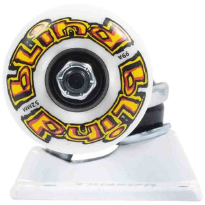 Tensor Blind OG Stretch Truck & Wheel Combo - Raw/White 5.25"