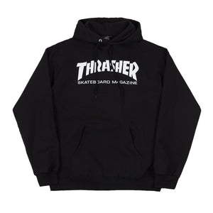 Thrasher Skate Mag Hood - Black | Pavement