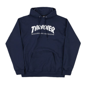 Thrasher Skate Mag Hood - Navy | Pavement
