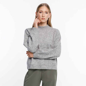 Thing Thing Gio Knit - Grey Marle | Pavement