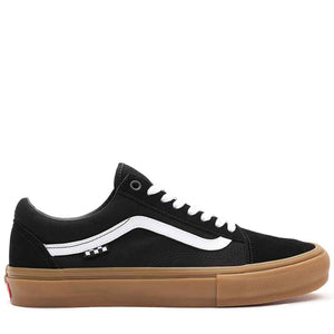Vans Skate Old Skool - Black/Gum | Pavement