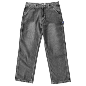 Vic Baggy Carpenter Jeans - Black Washed | Pavement