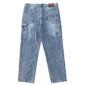 Vic Baggy Carpenter Jeans - Blue Washed | Pavement
