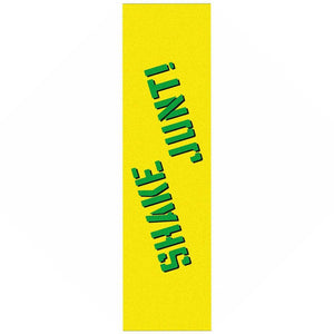 SHAKE JUNT GRIPTAPE - YELLOW/GREEN