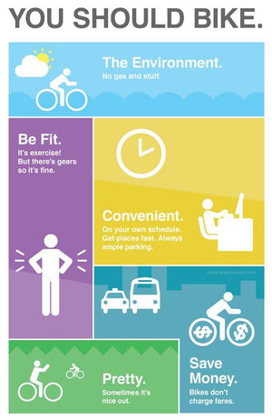 Why should you bike?