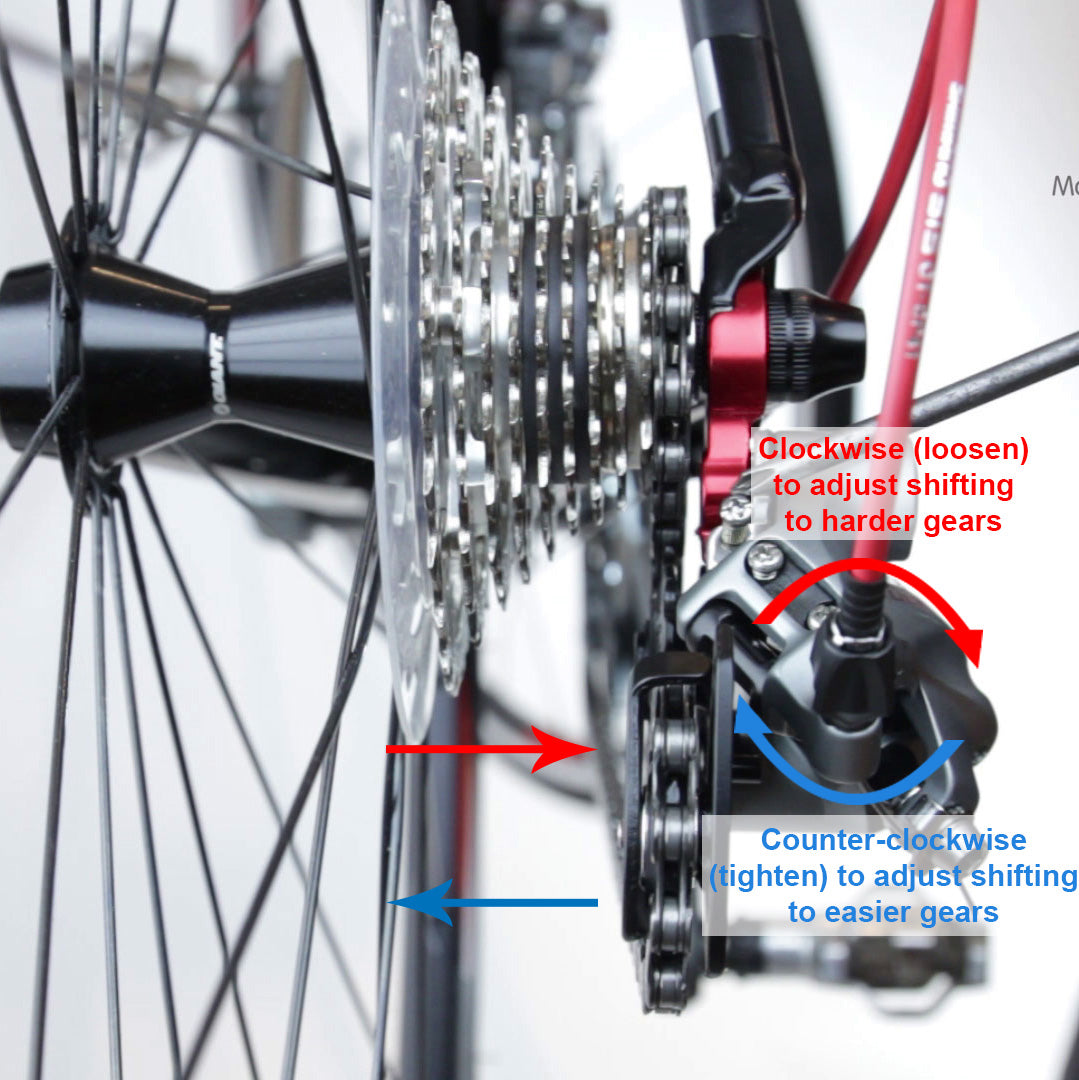 How to adjust the rear derailleur (gear) - Spark Bikes