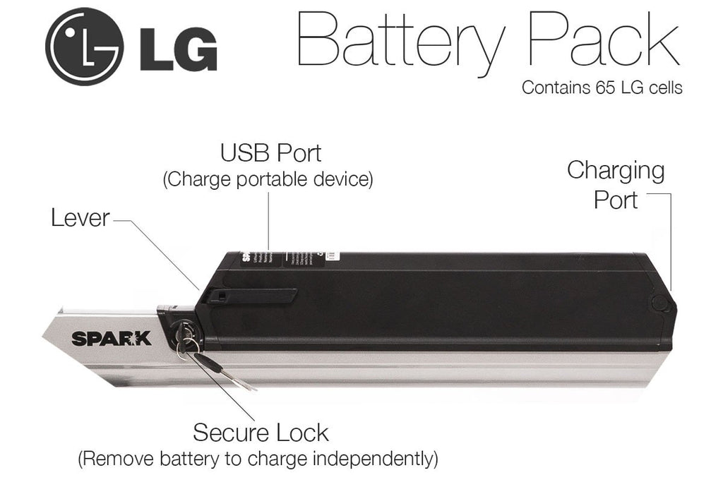 Spark Electric Bike LG Battery (eBike)