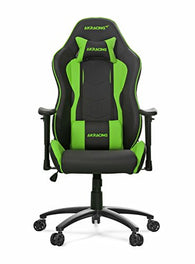 Akracing AK-5015 Nitro Ergonomic Series Racing Style Gaming Office Chair - Black/Green
