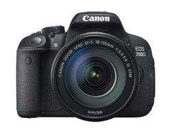 Canon EOS 700D Digital SLR Camera and 18-135mm EF-S IS STM Lens (Black)