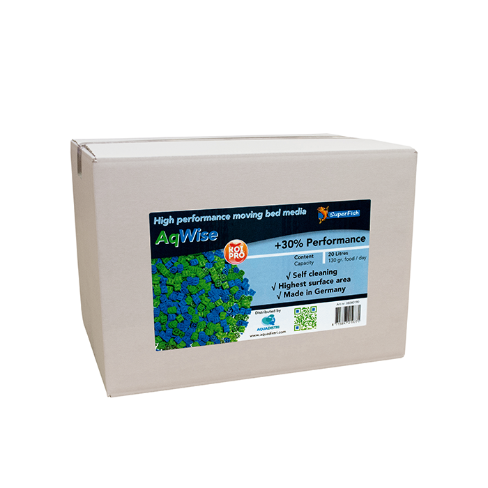 AQWISE FLOATING BED MEDIA 20 LITRES