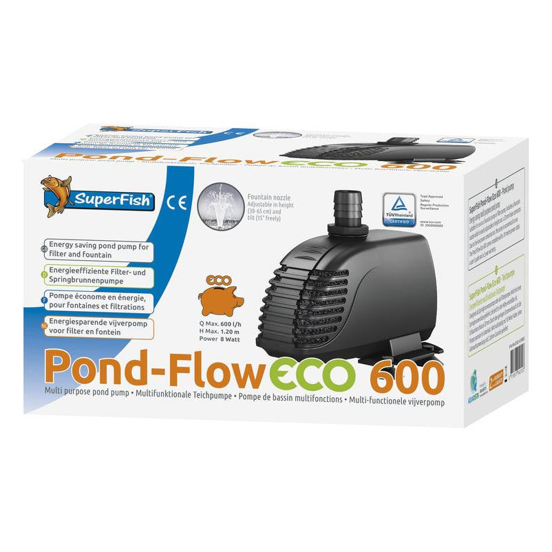 SUPERFISH POND FLOW ECO 600 POMPE BASSIN