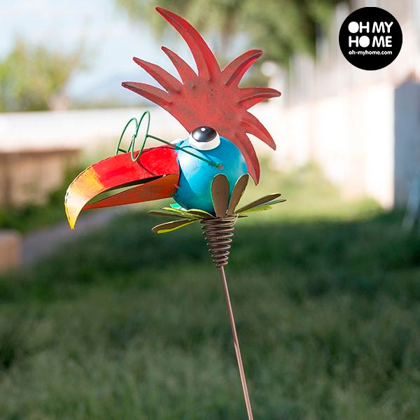 Metal Decorative Bird for Gardens