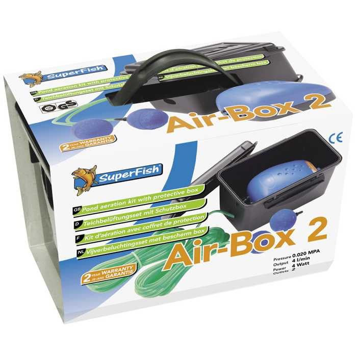 Airbox 2 - Superfish - Pompe à air