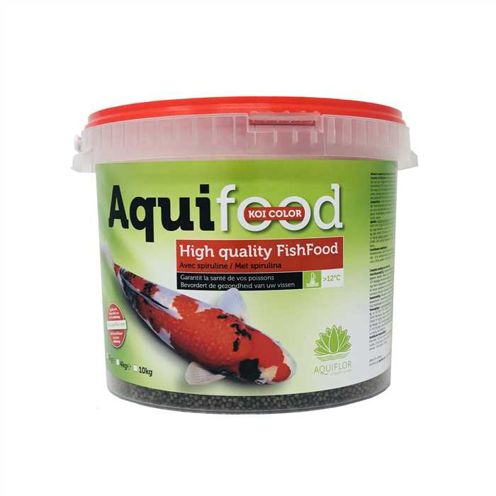 AQUIFOOD 4-5 MM 2KG NOURRITURE KOÏ COLOR & GROWTH