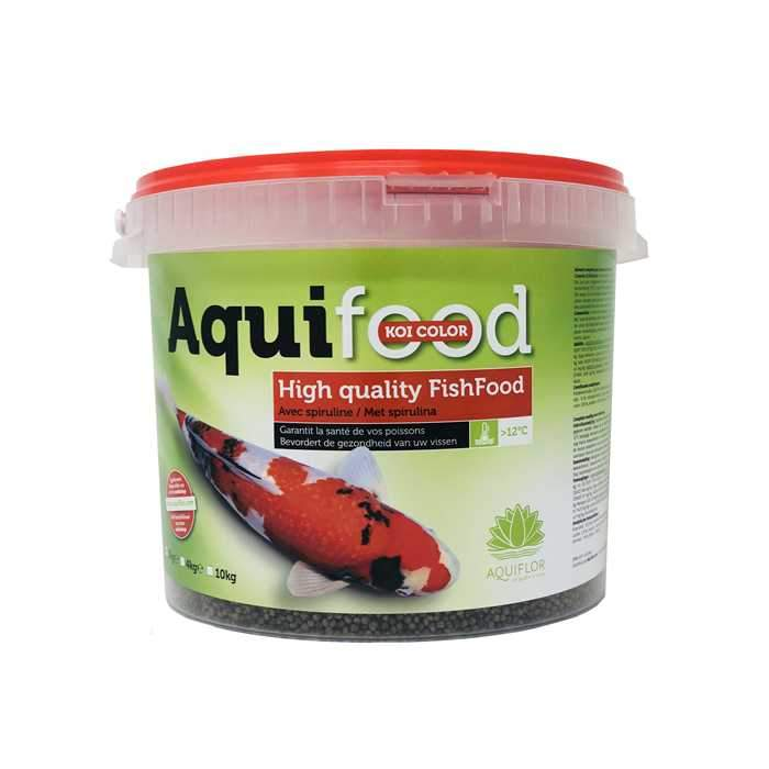 Aquifood High Quality FishFood - Color & Growth - Favorise la croissance et les couleurs