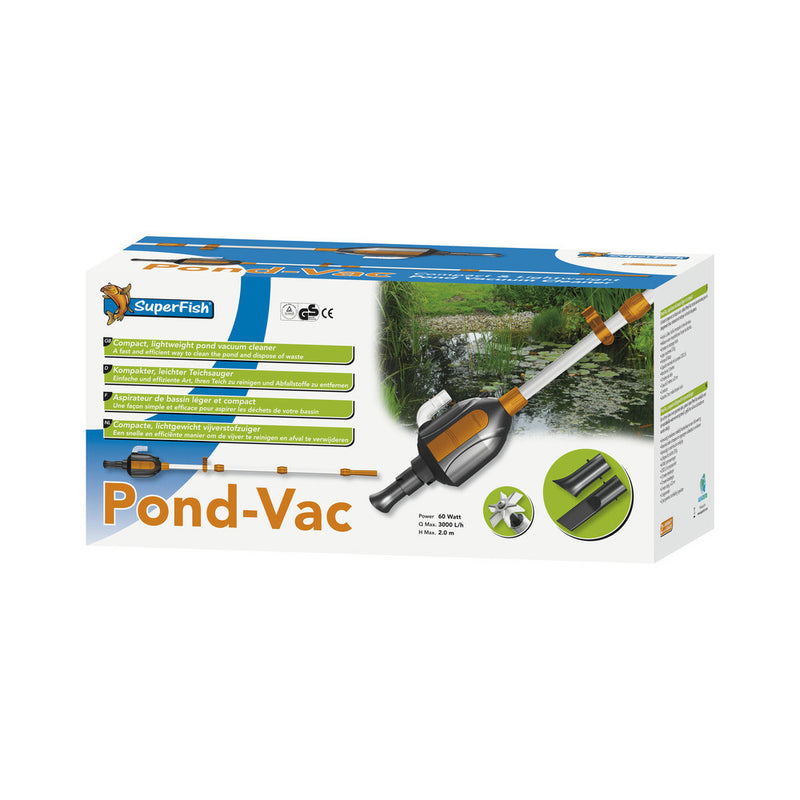 Superfish - Pond Vac Clean - Aspirateur de vase