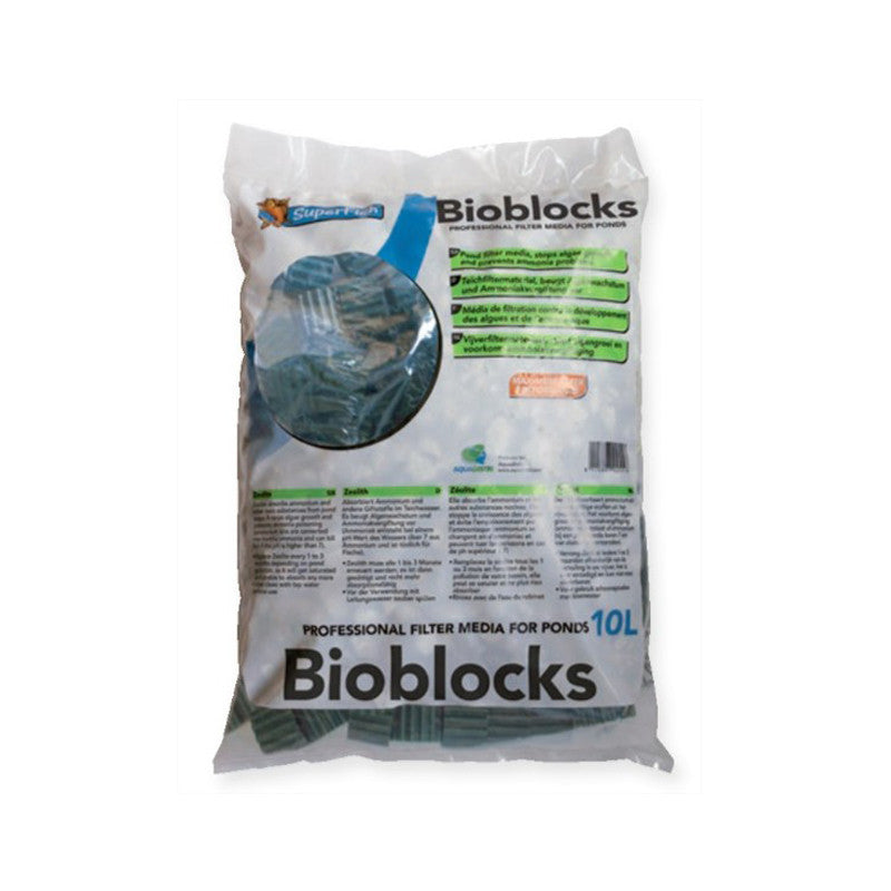 Bioblocks - Média de filtration en plastique - Superfish