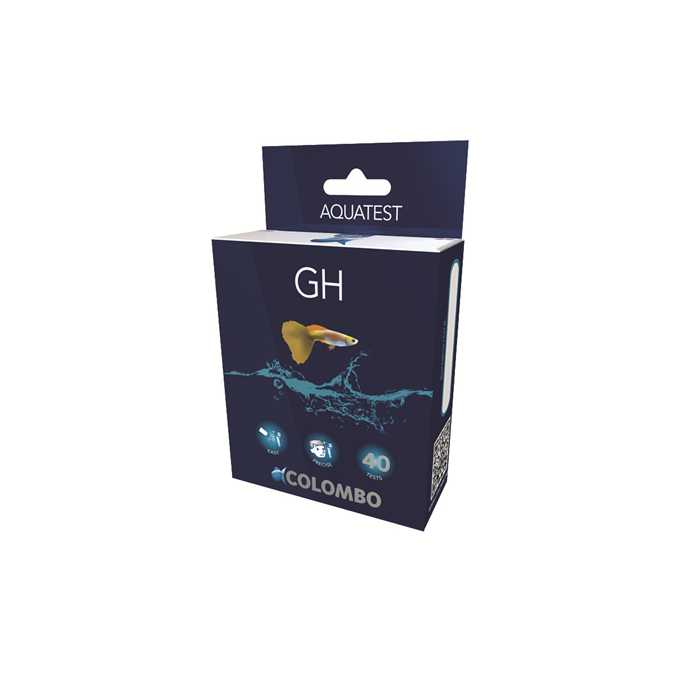 COLOMBO AQUA GH TEST POUR AQUARIUM & BASSIN