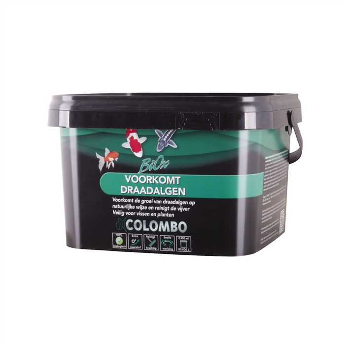 COLOMBO BIOX 2500ML/80.000L VASE & FILAMENTS