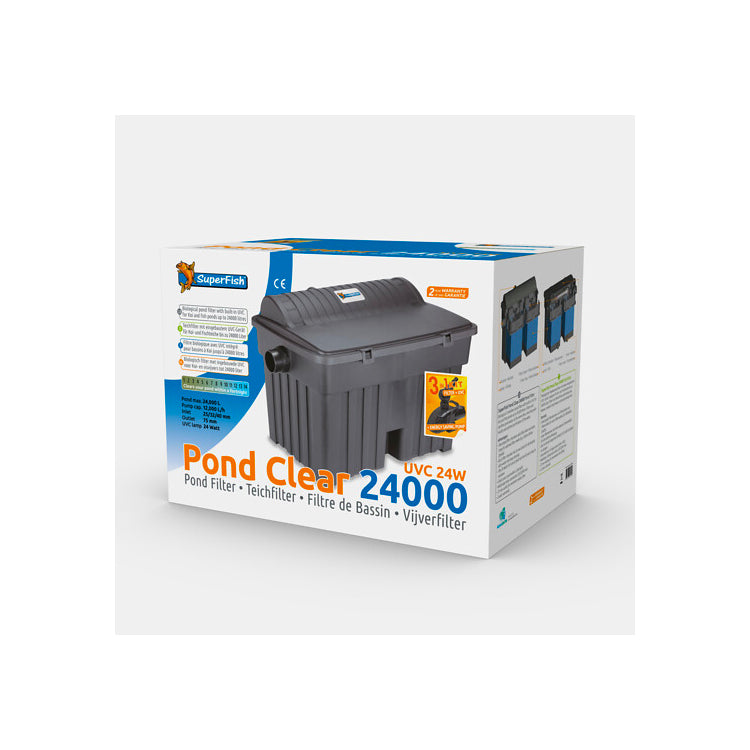 SF PONDCLEAR KIT 24000 UVC 24W & POND ECO 12.000