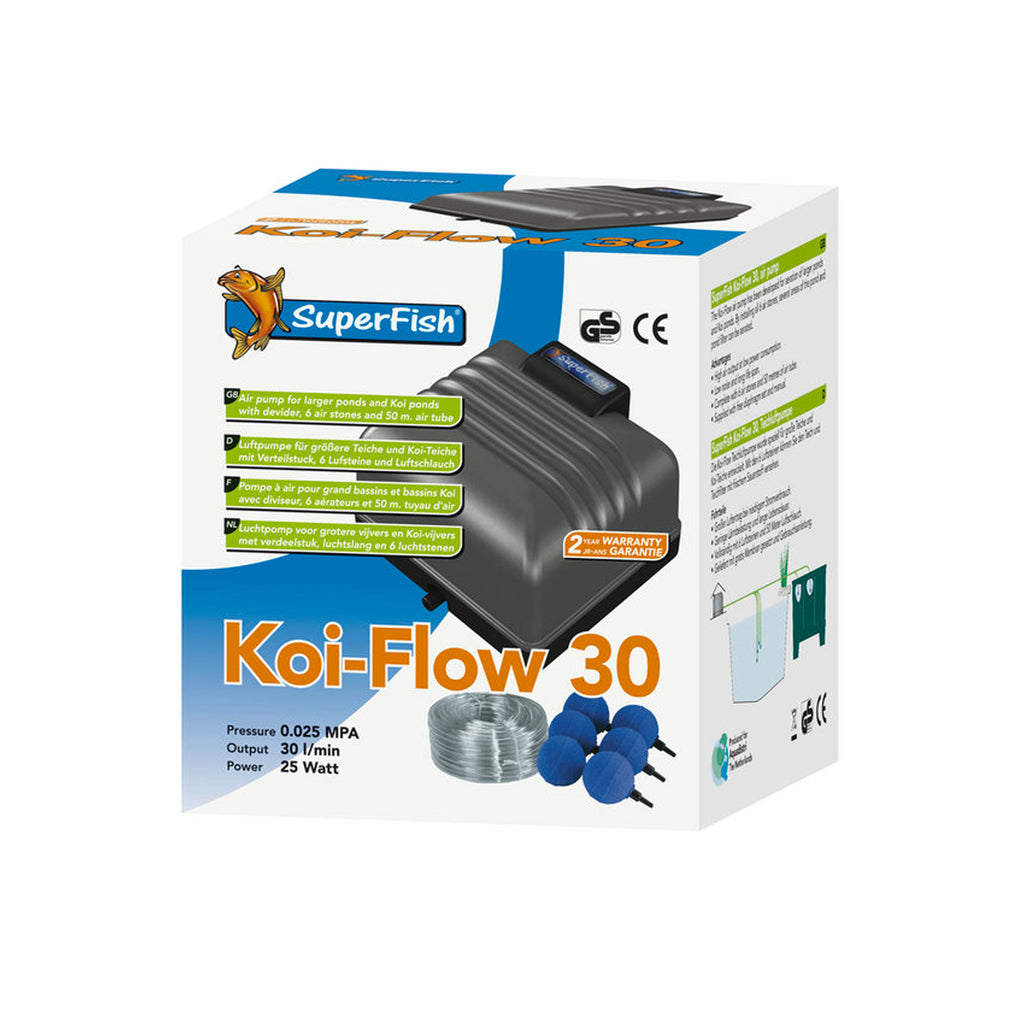 Superfish Koi Flow 30 - Pro Kit - Aération