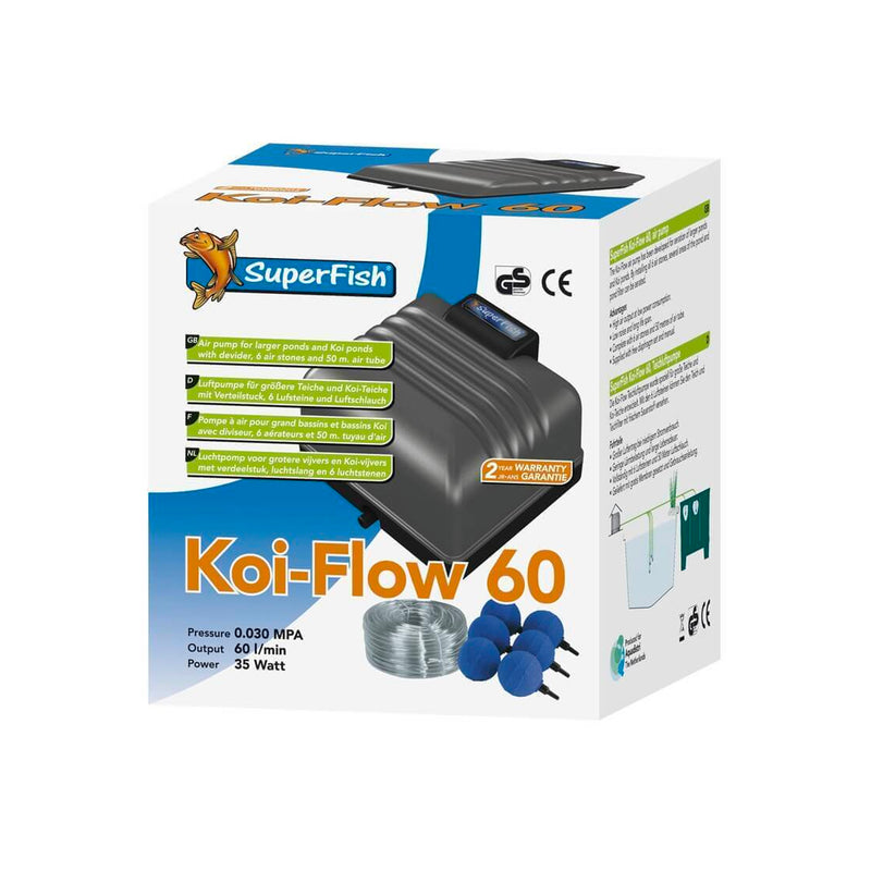 Superfish Koi Flow 60 - Pro Kit - Aération