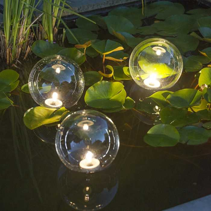 UBBINK - 3 BOULES FLOTTANTES LED MULTIBRIGHT FLOAT