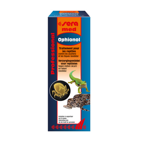 SERA Med Ophionol 50 ml Spray pour Reptiles