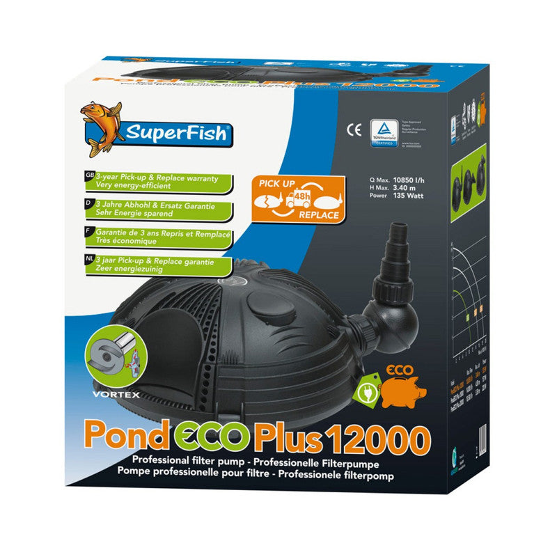 Superfish - Pond Eco Plus Classic 12000 - 135W