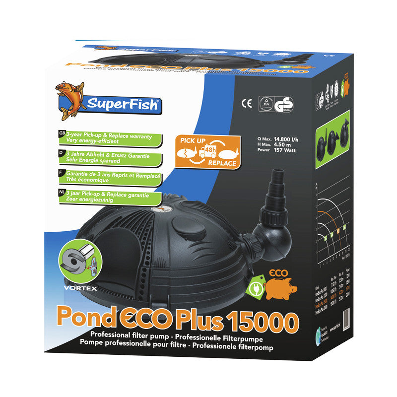 Superfish - Pond Eco Plus Classic 15000 - 157W