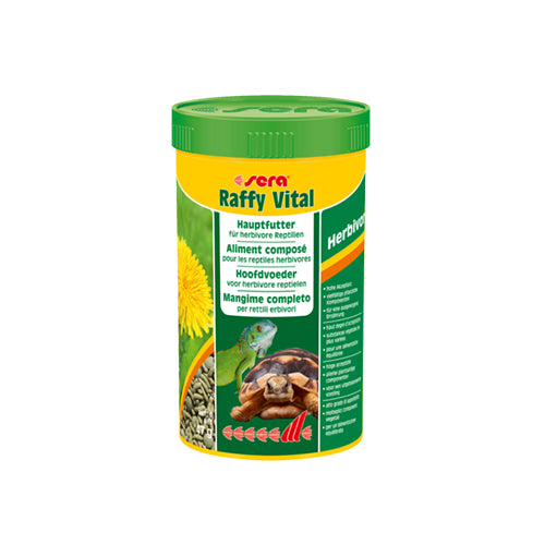 SERA RAFFY VITAL 1000ML - 190G - ALIMENT POUR TORTUES TERRESTRES