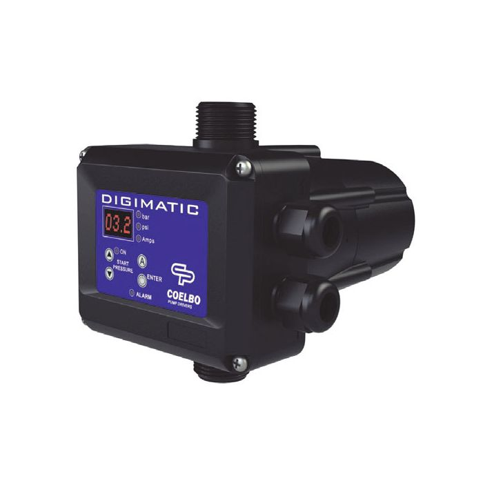 Digimatic digital pump control