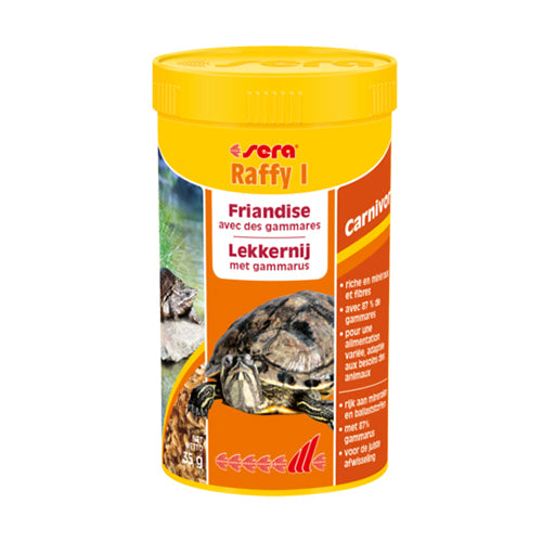 SERA RAFFY I - 250ML - 35G- ALIMENTATION VARIÉE TORTUES