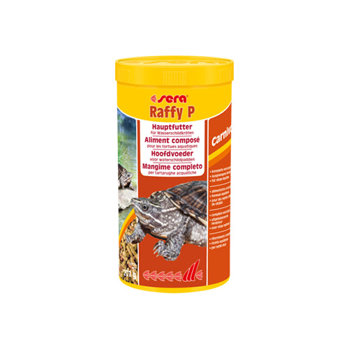 SERA RAFFY P - ALIMENT TORTUE AQUATIQUE 1000ML - 207G