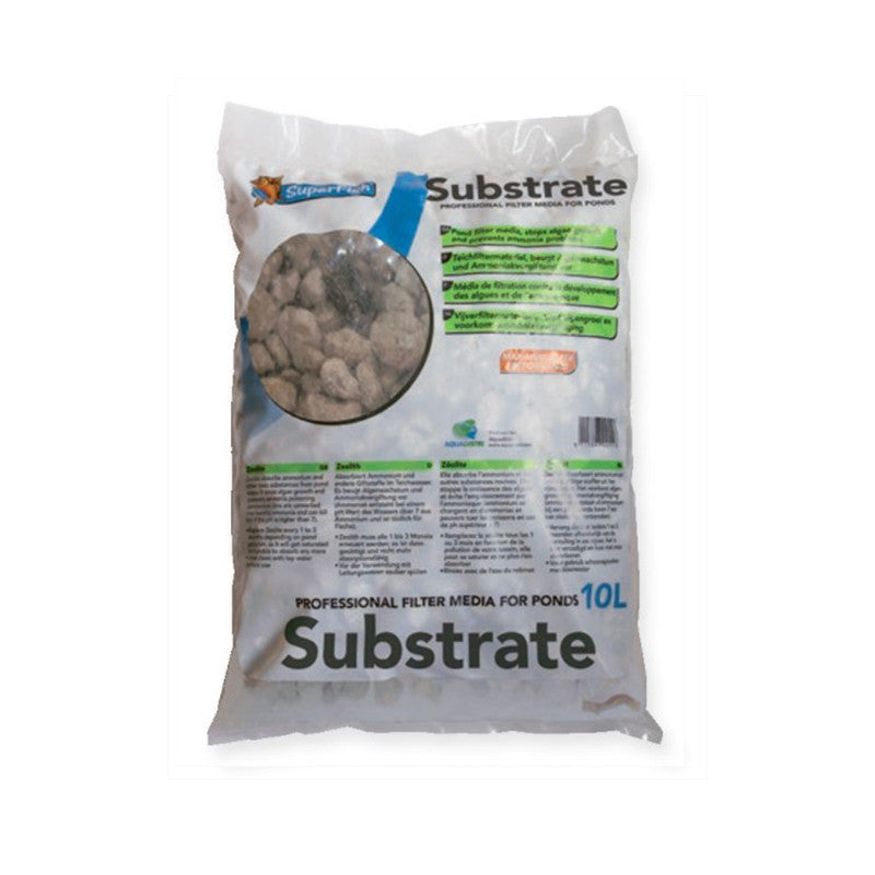 Subtrat naturel pour étang - 10L - Superfish