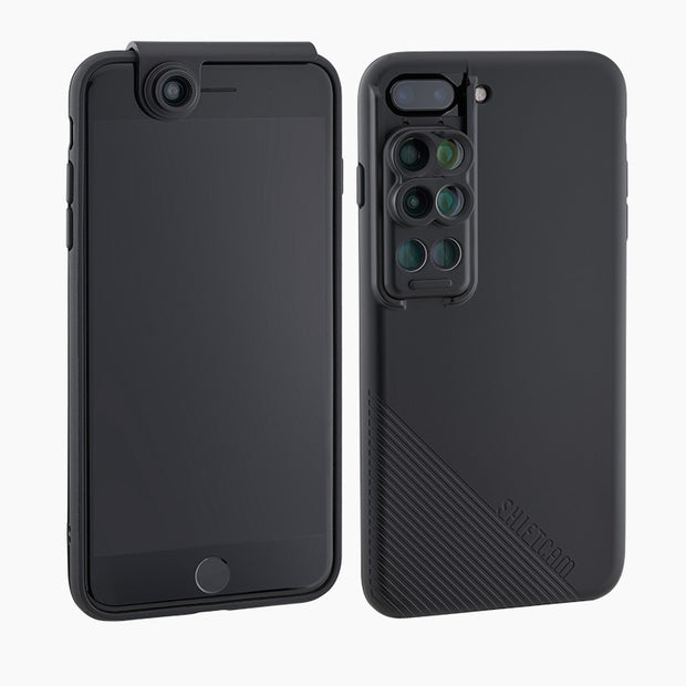 6-in-1 MultiLens Case with Front Facing Lens for iPhone 7/8 Plus - ShiftCam