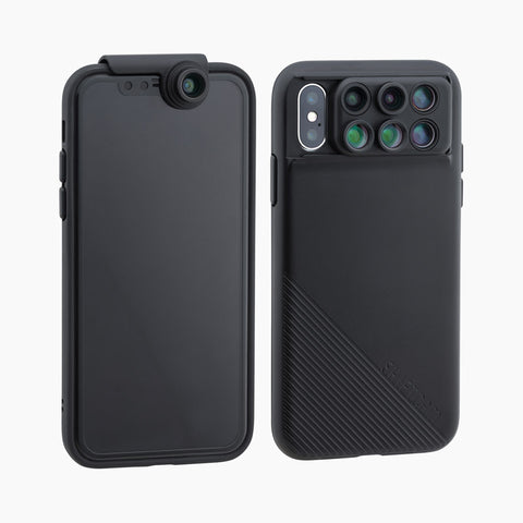 6-in-1 MultiLens Case with Front Facing Lens for iPhone Xs - ShiftCam