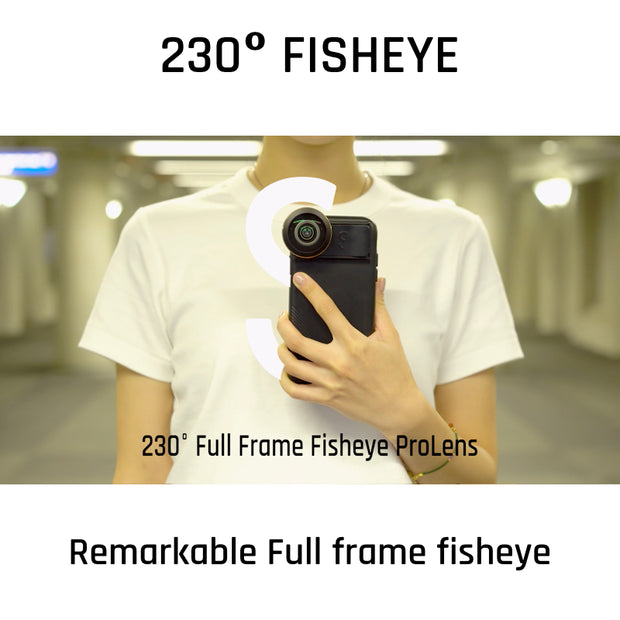 230° Full Frame Fisheye Advance ProLens Only - ShiftCam