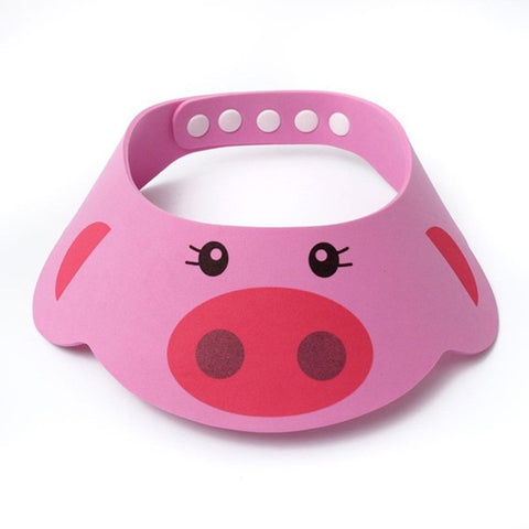 Shower visor for kids