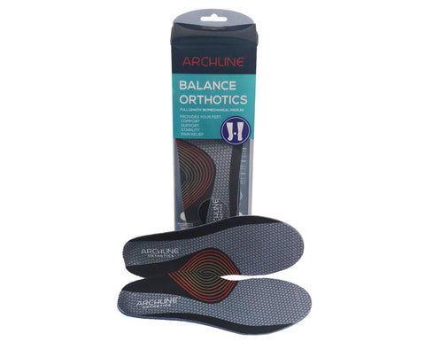 Archline ORTHOTIC INSOLES BALANCE- Full Length (Unisex) Plantar Fasciitis Foot Pain Relief
