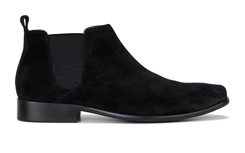 Julius Marlow KICK Black Suede