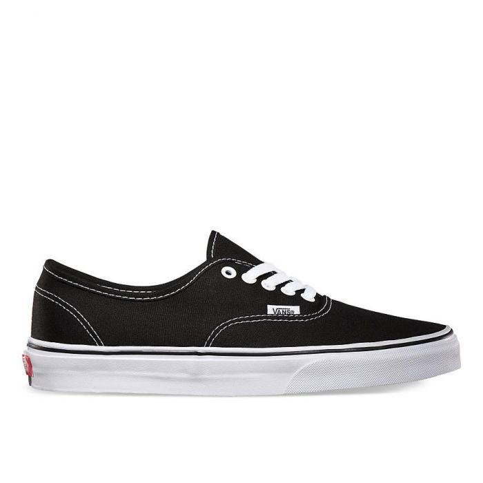87a02ac604 Vans AUTHENTIC Black True White – Sesto Shoex